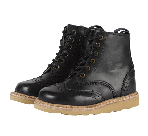 Sidney Brogue Boot by Young Soles