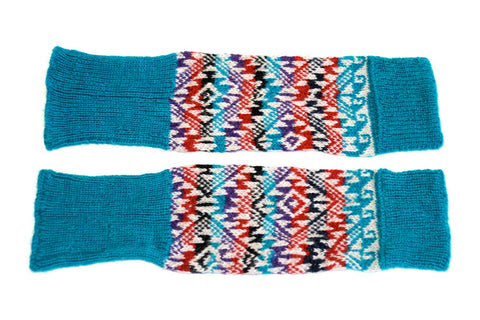 Classic Turquoise Leg/Arm Warmer