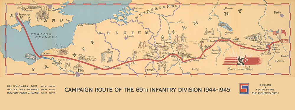 69th Infantry Division Campaign Map