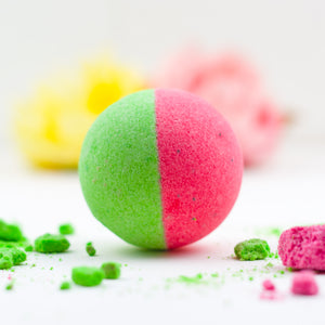 Juicy Watermelon Bath Bomb