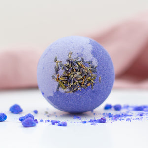 Relaxing Lavender Bath Bomb