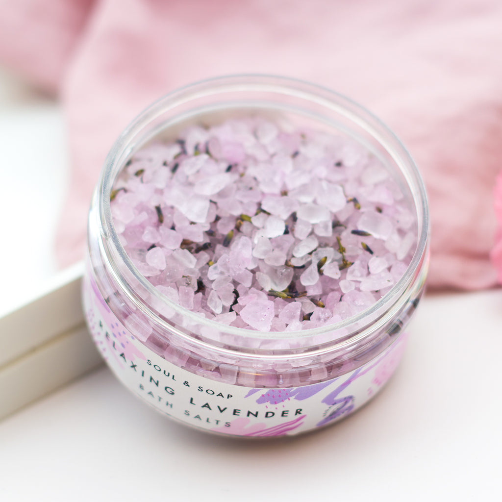 Relaxing Lavender Soaking Salts