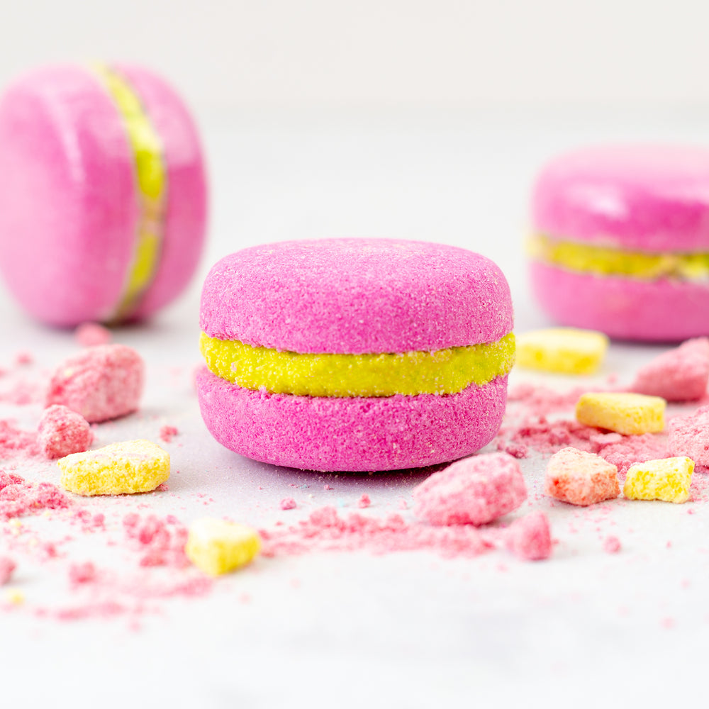 Grape Soda Bath Macaron