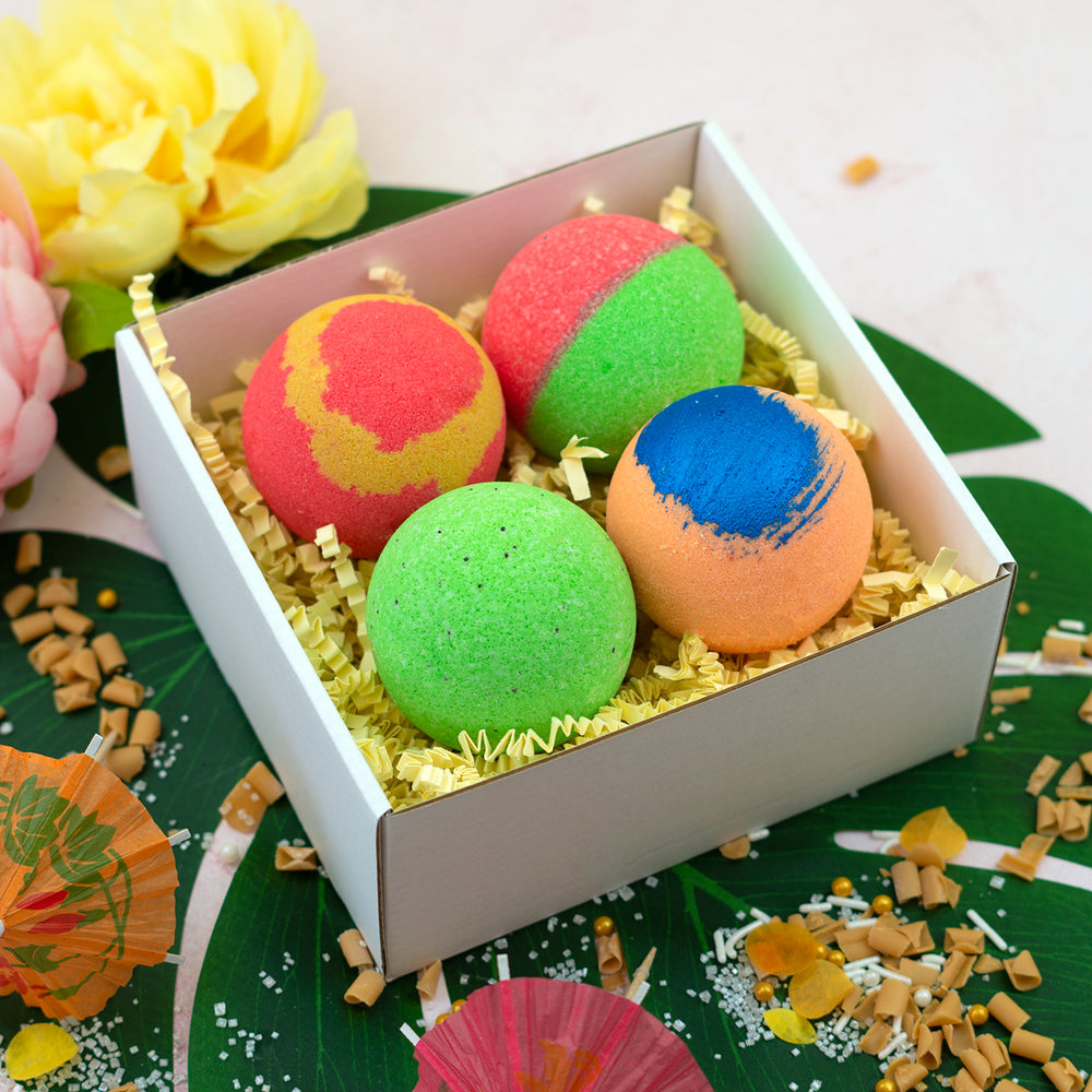 Club Tropicana Bath Bomb Gift Set