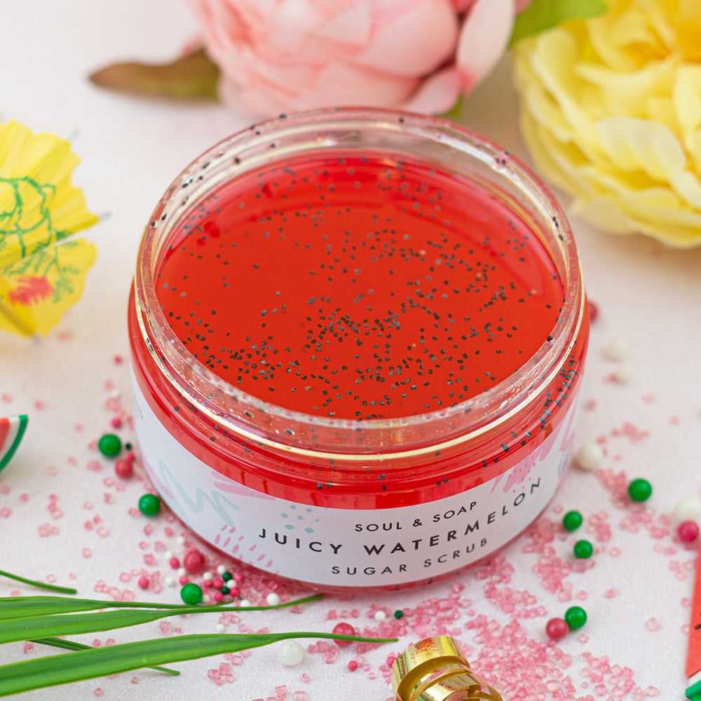 Juicy Watermelon Body Scrub