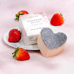 Strawberry Massage Lotion Body Bar