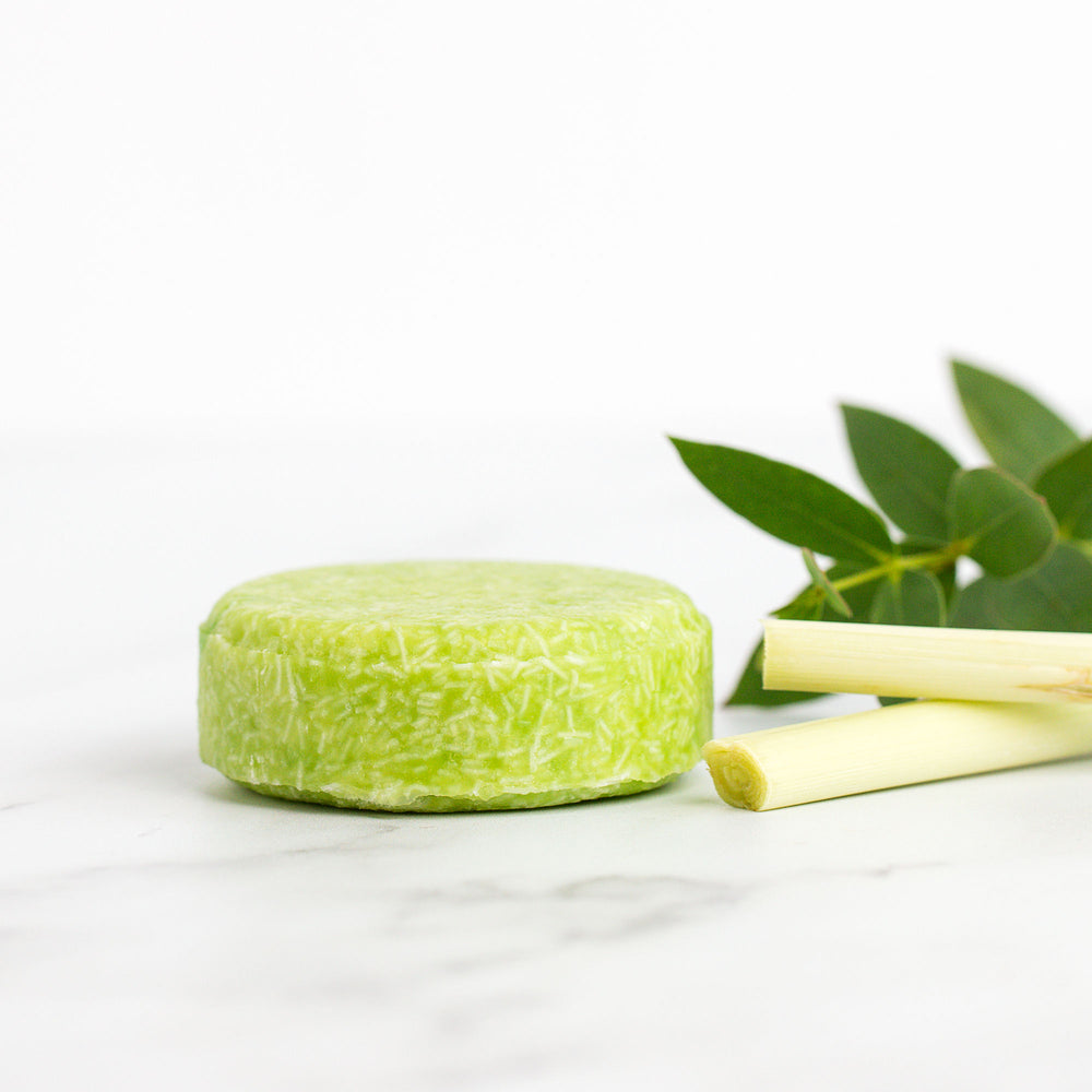 Lemongrass Solid Shampoo Bar