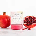 Pomegranate Solid Shampoo Bar - Vegan