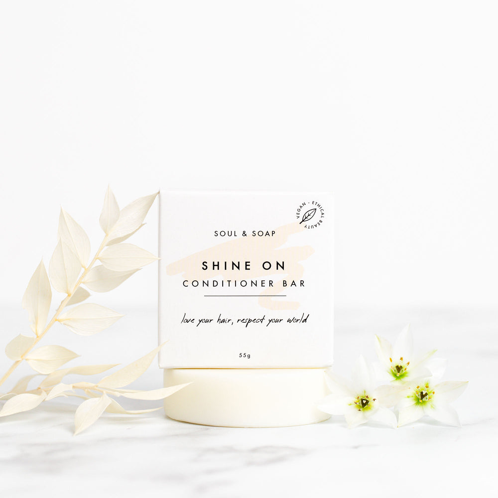 Shine On Conditioner Bar - Vegan