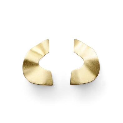Boucles d'oreilles Ellipse Or jaune