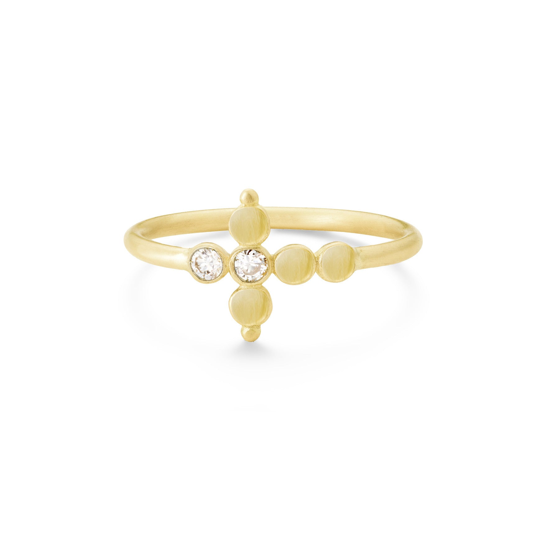 Bague Petit AA Or jaune et Diamants (exclusivité internet)