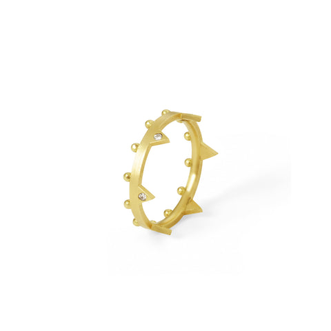 Bague Dea Or jaune et Diamants