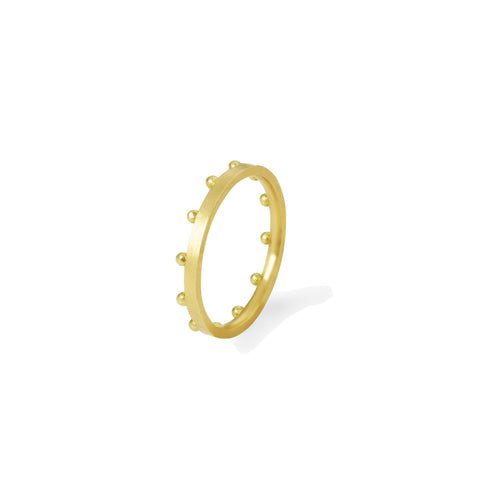 Bague Grains Or jaune
