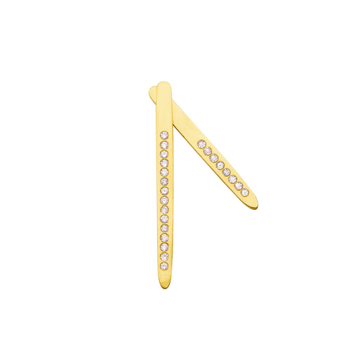 Boucle d'oreille Sunrise Or jaune et Diamants