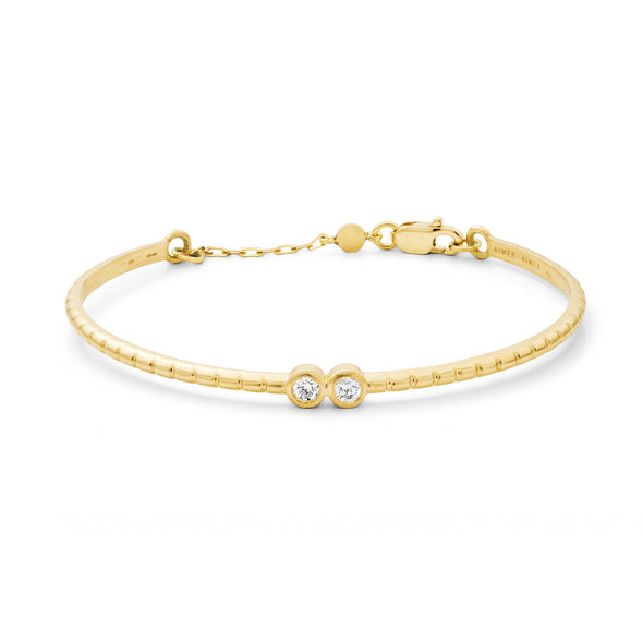 Bracelet Folles Iguazu Or jaune et Diamants