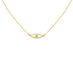 Collier Bel Aloha Or jaune et Diamant