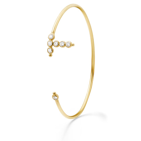 Bracelet AA Or jaune et Diamants