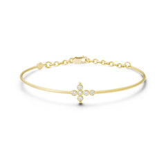 Bracelet Petit AA Or jaune et Diamants