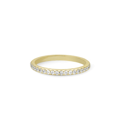 Bague Infini Or jaune et Diamants