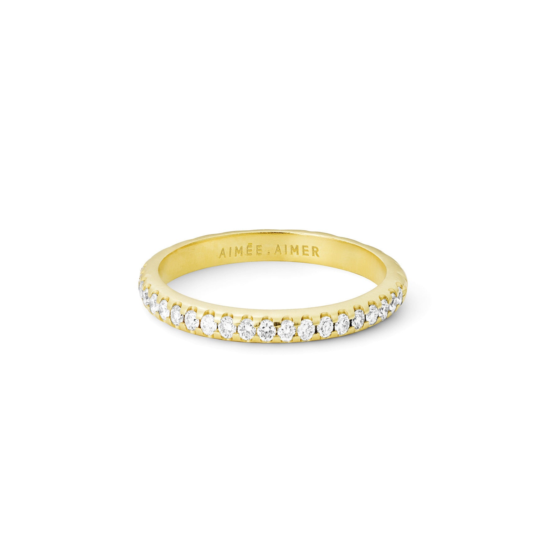 Bague Bi  Or jaune ou Or blanc et Diamants