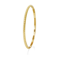 Bracelet Lignes F. Or jaune, Saphirs et Diamants