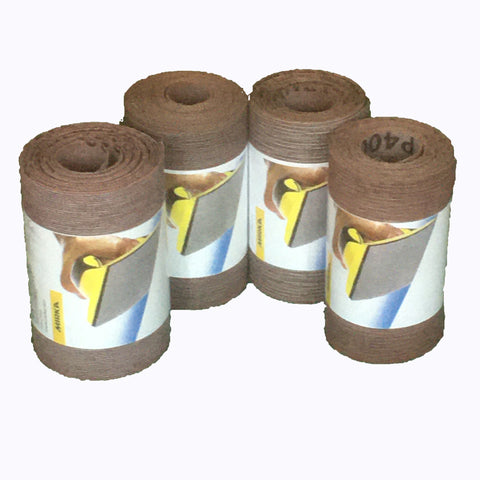 Abranet sanding rolls - pack of 4