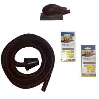 Mirka Sanding Block and Dust Extraction hose Kit