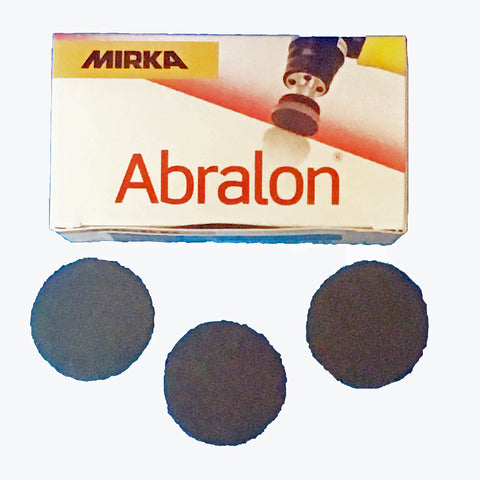 Mirka Abralon 35mm sanding discs - ideal for mini sander