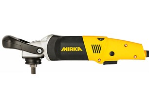 Mirka PS 1437 Polisher. Ideal for polishing glass with E using sanding pads and polishing kit.