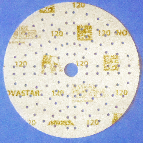Mirka sanding discs with polyester film backing.