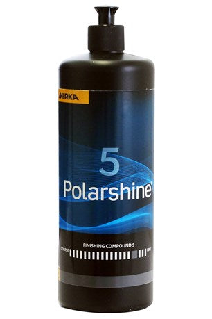 Mirka Polarshine5 Polishing Compound - a high gloss polishing compound for paint and lacquer finishes.