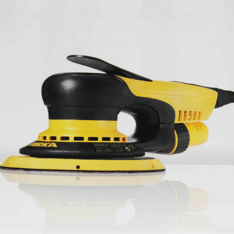 Mirka CEROS orbital sander - ideal for most general sanding purposes with low maintenance.