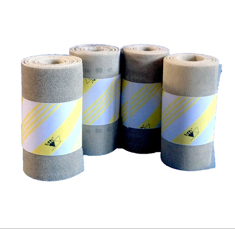 Sanding rolls to cut clogging. Ideal abrasives for day to day use.