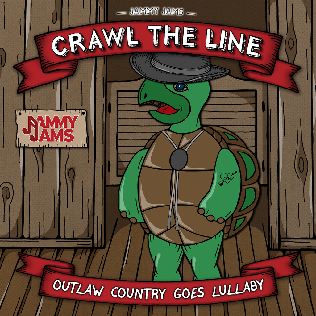 Crawl The Line: Outlaw Country Goes Lullaby - Jammy Jams