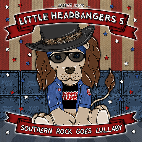Little Headbangers 5: Southern Rock Goes Lullaby - Jammy Jams