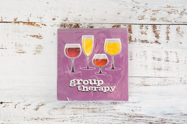 Group Therapy Drink Napkin