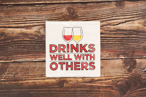 Drink Well with Others Drink Napkin