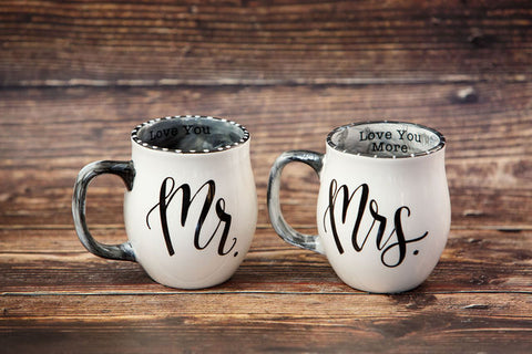 Mr. & Mrs. Coffee Mug
