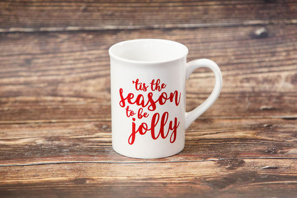 Tis the Season to be Jolly Coffee Mug