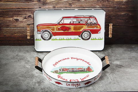 University Of Arkansas Collegiate Trays