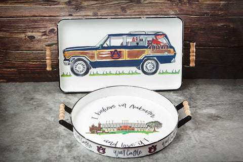 University Of Auburn Collegiate Trays