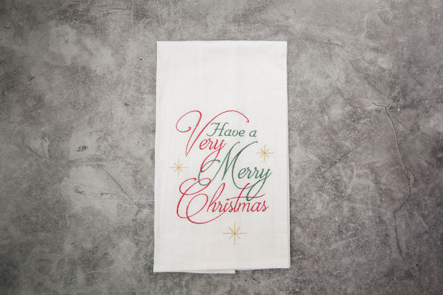 Have a Very Merry Christmas Tea Towel