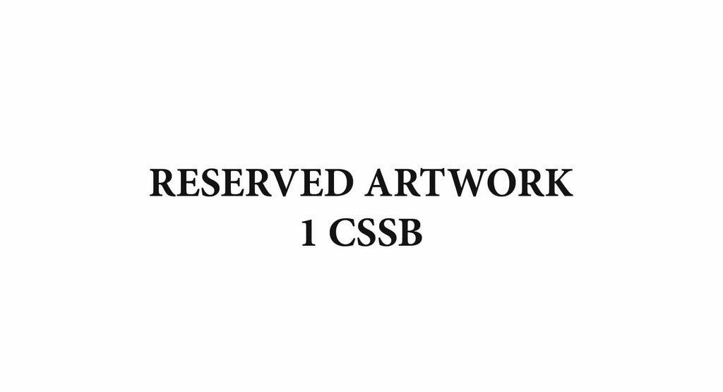 Reserved Artwork 1CSSB - Australian Custom Metalwork Designs