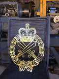 Brass Australian Army Brass Military Police Badge **FREE POSTAGE IN AUS** - Australian Custom Metalwork Designs