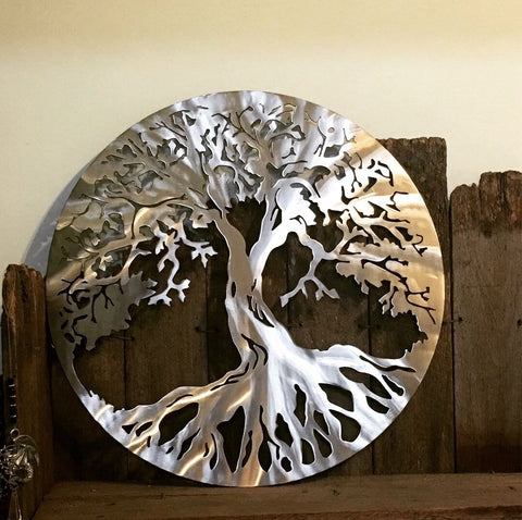 Stainless Steel Tree of Life **FREE SHIPPING WITHIN AUSTRALIA**