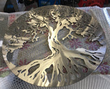 Stainless Steel Tree of Life **FREE SHIPPING WITHIN AUSTRALIA** - Australian Custom Metalwork Designs