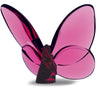 Baccarat Papillon Lucky Butterfly Pink