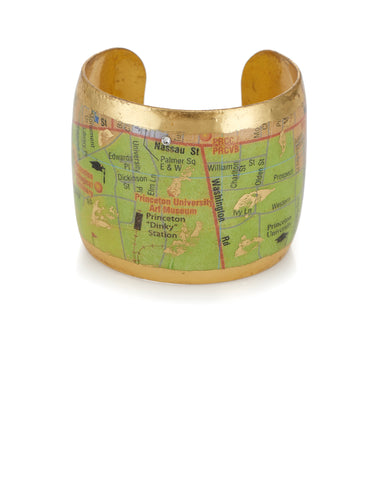 Evocateur Princeton Map Cuff Bracelet, Exclusively at Hamilton Jewelers