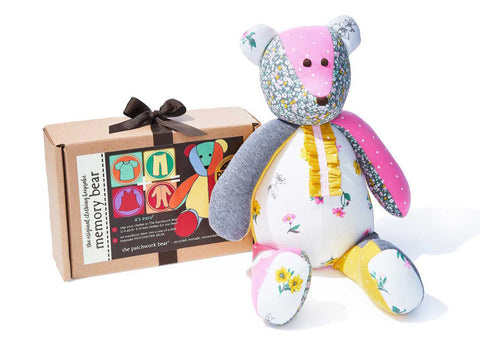 Memory Bear Gift Kit by The Patchwork Bear