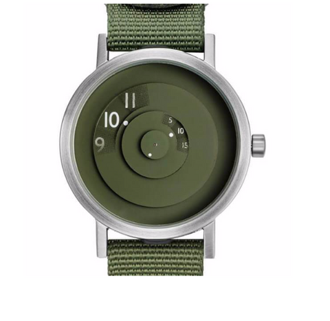 Daniel Will-Harris Reveal Watch Green